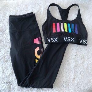 Victoria's Secret Sport Leggings Sports Bra Set